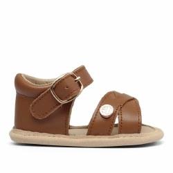Luggage Brown Sandal 6-9m