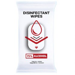 Single Use Disinfectant Wipes