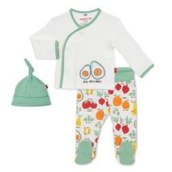 Kimono Set Perfect Puns NB