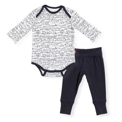 Organic Outfit Going Places 6-9m