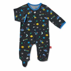 Footie Space Chase 0-3m