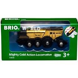 Brio World Mighty Gold Action Locomotive