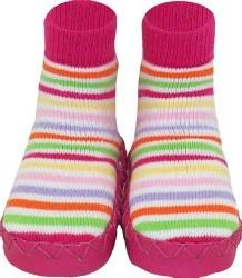 Moccasin Pink Stripe 8Y