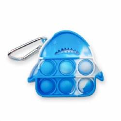OMG Pop Fidgety Keychain Shark