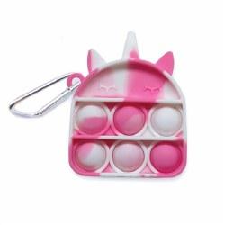 OMG Pop Fidgety Keychain Unicorn