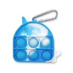 OMG Pop Fidgety Keychain Narwhal