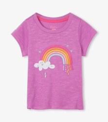 Over the Rainbow Tie Back Tee 7