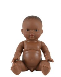 African Baby Boy Caramel Eyes