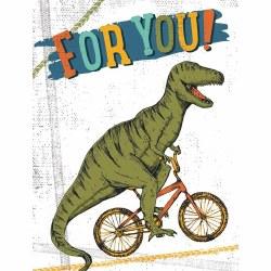 Dinosaur on Bike Enclosure