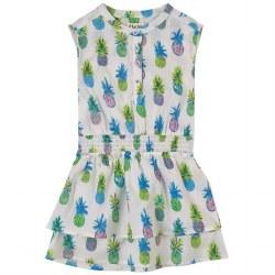 Pineapples Waist Dress 3T