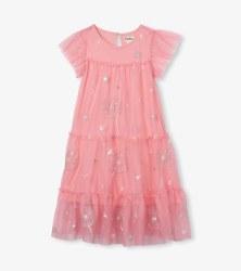 Pink Dreams Flutter Dress 7