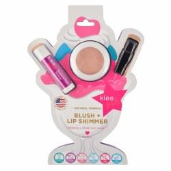 Pink Sugar Fluff Natural Mineral Blush and Lip Shimmer Duo