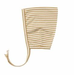 Pixie Bonnet Gold Stripe 0-3m
