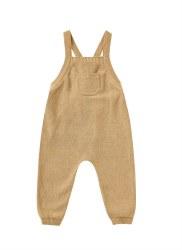 Knit Overalls Honey 6-12m