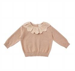 Petal Knit Sweater Petal 6-12m