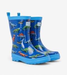 Rain Boots Friendly Dinos 6T