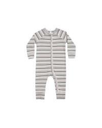 Striped PJ Longjohn Forest 12-