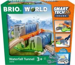 Brio World 333978 Smart Tech Sound Tunnel With Waterfall