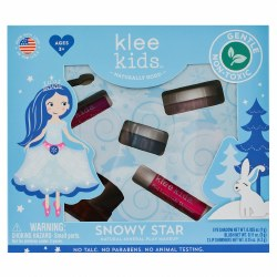 Snowy Star Natural Mineral Makup Play Kit