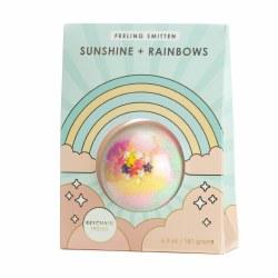 Sunshine and Rainbows Surprise Key Chain Bath Bomb