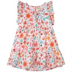 Summer Blooms Dress 3T