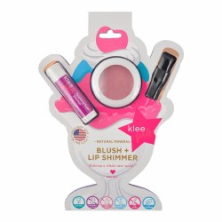Sweet Cherry Pop Natural Mineral Blush and Lip Shimmer Duo