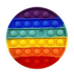 OMG Pop Fidgety Round Rainbow