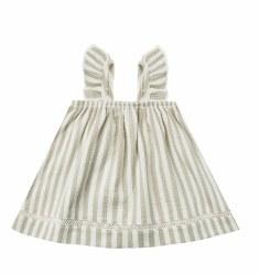 Woven Dress Sage 2-3Y