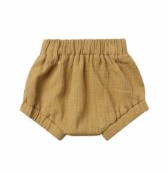 Woven Short Gold 12-18m