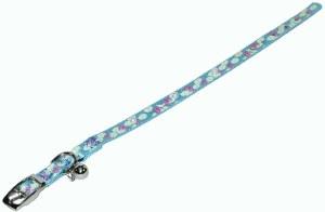 3/8x12 Light Blue Bell Collar