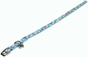 3/8x10 LightBlue Bell Collar