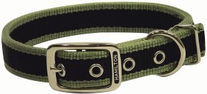 1x20 Moss Green 3Stripe Collar