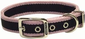 1x20 RosePink 3Stripe Collar