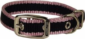 5/8x16 RosePink 3Stripe Collar