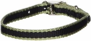 3/8x12 Moss Grn 3Stripe Collar