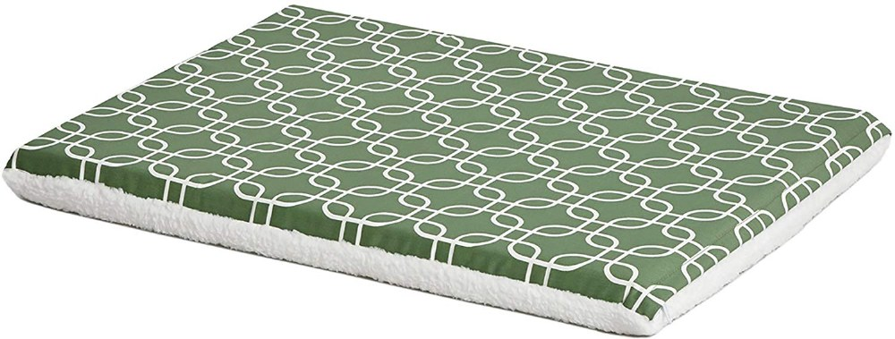 Green-White Geometric 30IN Bed