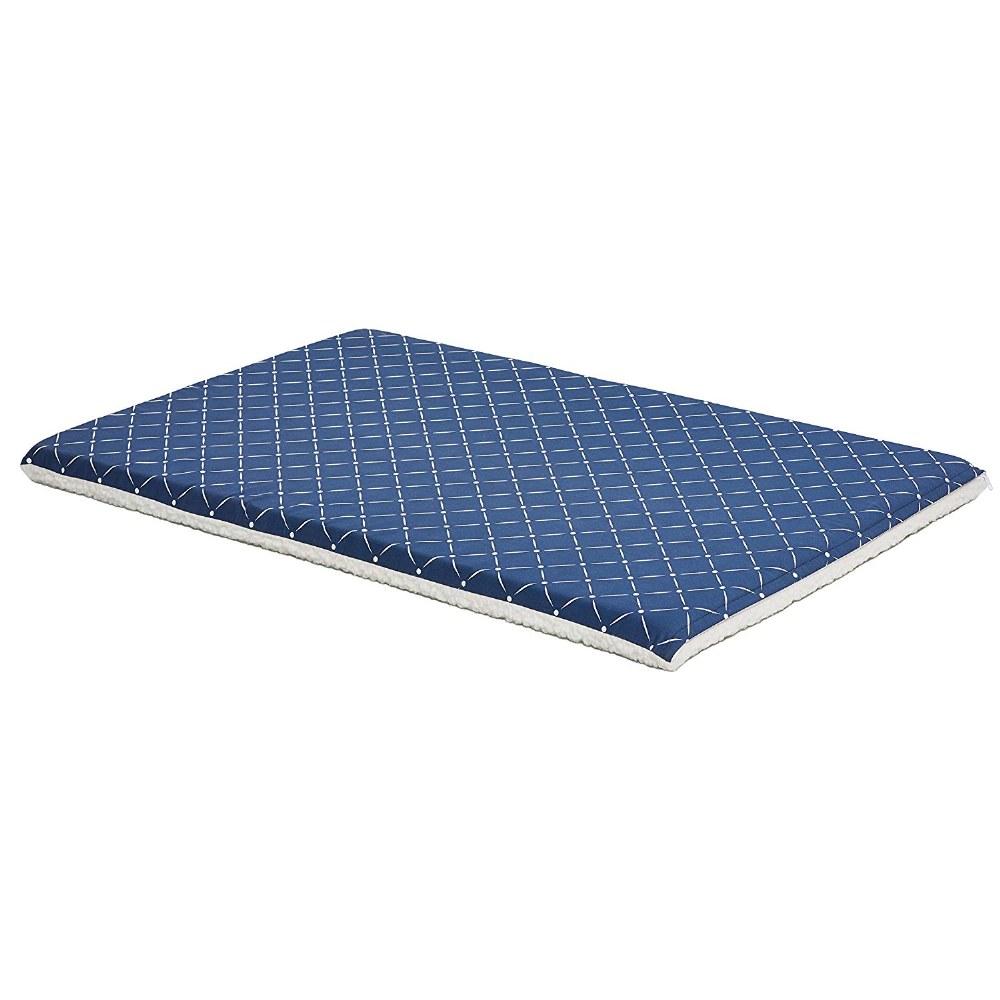 48-Inch Blue Diamond Dog Bed