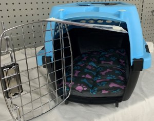 19 Inch Blue Dog Carrier