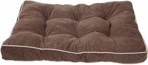 Brown Gusseted Pillow 29x40