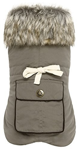 Dog Coat Army Kaki Medium