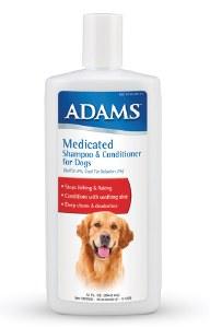 Adams Medicated Sham-Cond 12oz