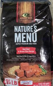 NaturesMenu Beef Rice Dog 35lb