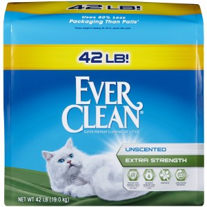 Everclean Unscented X 42lb