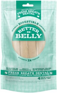 Better Belly Dental Lrg 4 Ct