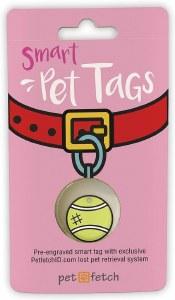 PetFetch Tennis Ball Tag
