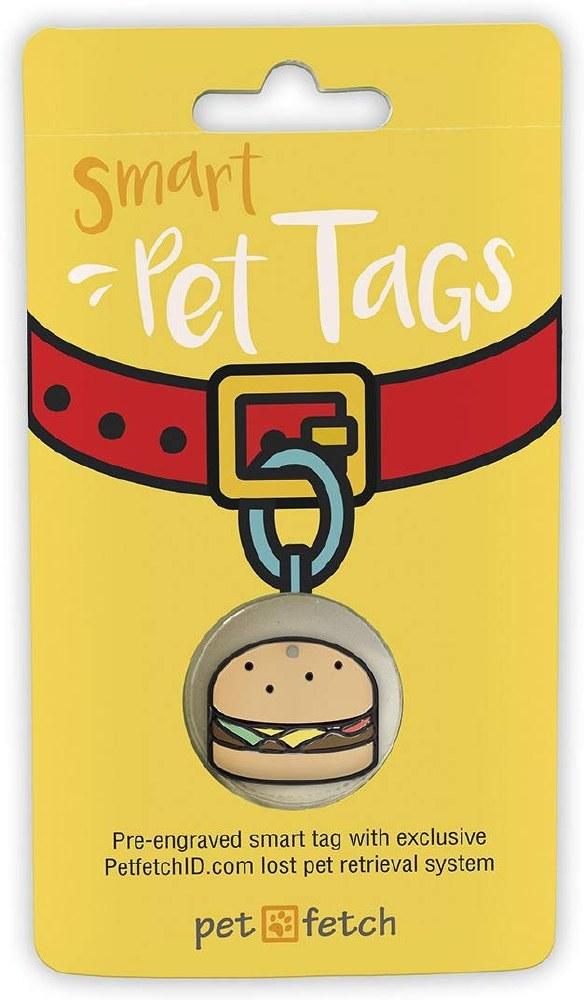PetFetch Hamburger Tag