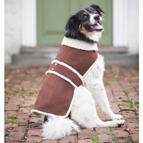 Shearling Coat Brown Medium