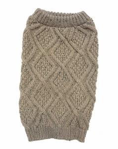 Fisherman Taupe Sweater XSmall