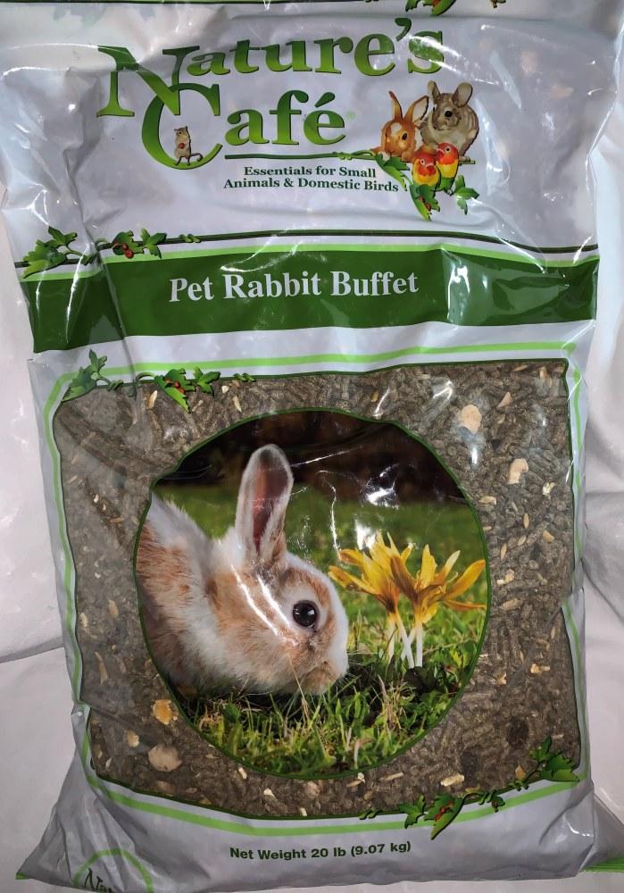 NaturesCafe Rabbit Buffet 20Lb