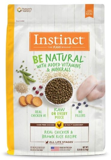 Instinct Be Natural Chckn 12Lb